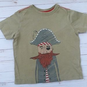 Hanna Andersson Boy's Pirate T-shirt 110 (Sz 5/6)